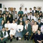 A miskolci ifjúság Pálhegyi Ferenc társaságában (90-es évek eleje)