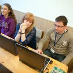 Diszpécser szolgálat- a tájékozódási verseny segítői